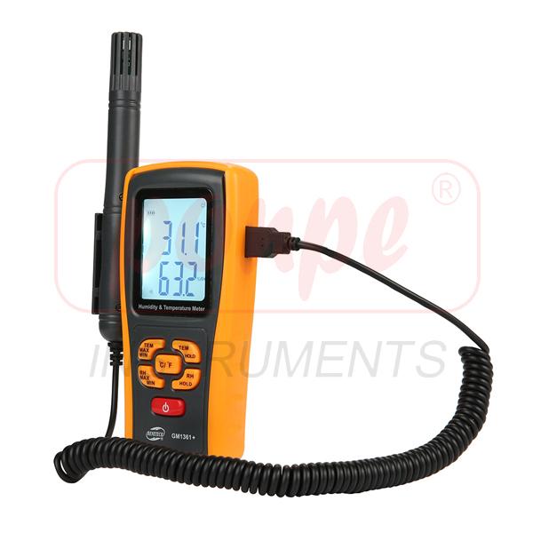 GM1361+ / BENETECH เครื่องวัดอุณหภูมิ ความชื้น Thermo-Hygrometer