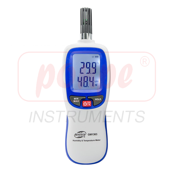 GM1363 / BENETECH เครื่องวัดอุณหภูมิ ความชื้น Humidity & Temperature Meter