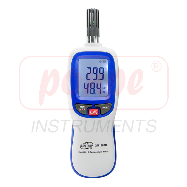 GM1363B / BENETECH Moisture Meter Humidity & Temperature Meter