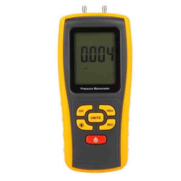 GM511 BENETECH เครื่องวัดความดันลม LCD Display Pressure Manometer