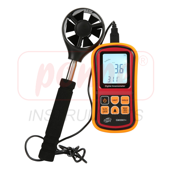 GM8901 + / BENETECH Digital Anemometer