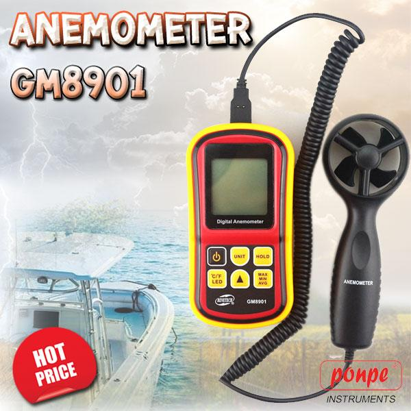 GM8901 BENETECH เครื่องวัดความเร็วลม Anemometer