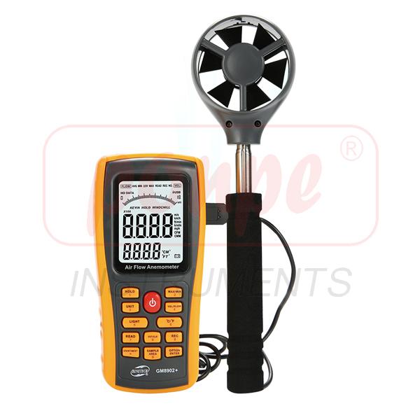GM8902+ / BENETECH เครื่องวัดความเร็วลม Digital Anemometer