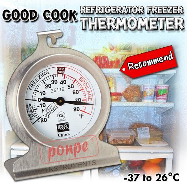 เครื่องวัดอุณหภูมิ ในตู้เย็น GOOD COOK refrigerator freezer thermometer