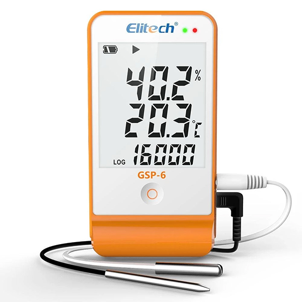 GSP-6 / Elitech Temperature and Humidity Data Logger