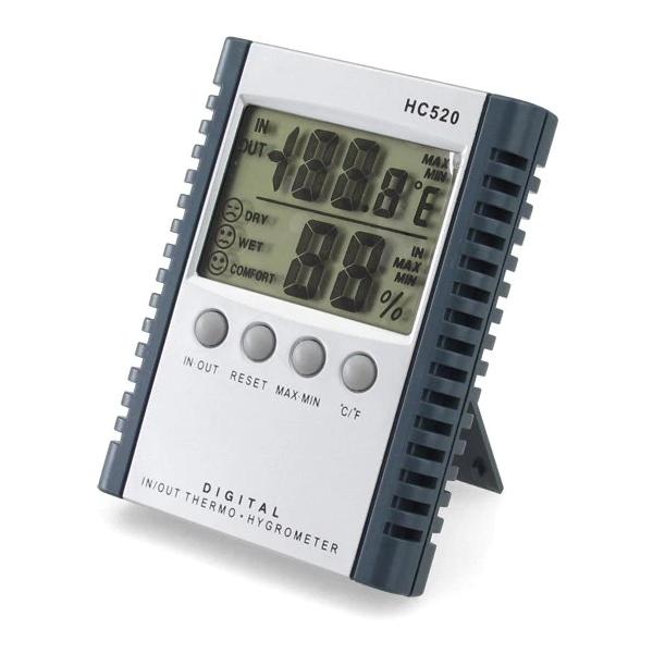 HC-520 JEDTO เครื่องวัดอุณหภูมิ ความชื้น Digital In-Outdoor Thermometer