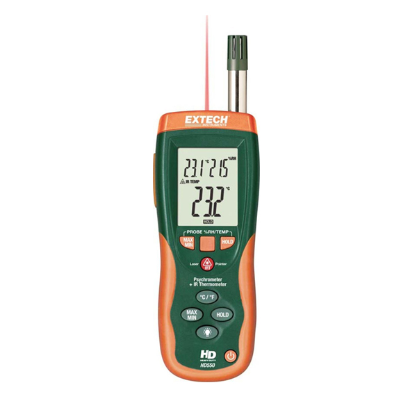 HD550-NISTL / Extech Hygro-Thermometer with Limited NIST