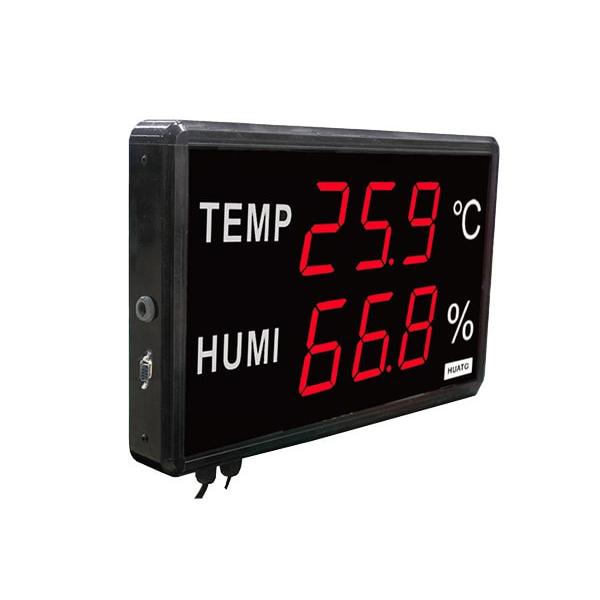 HE223C / HUATO เครื่องวัดอุณหภูมิและความชื้น LED Display Temperature Humidity DataLOGGER