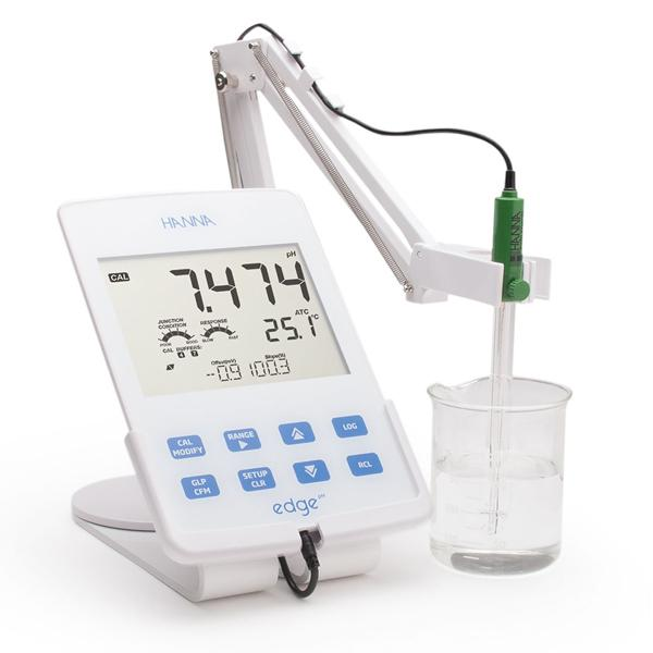 HI2002 HANNA เครื่องวัดกรดด่าง โออาร์พี pH/ORP Meter