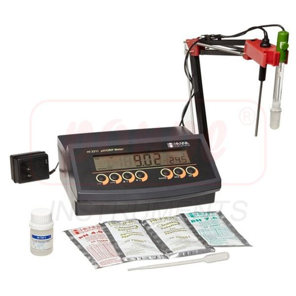 Basic pH/ORP Benchtop Meter HI2211