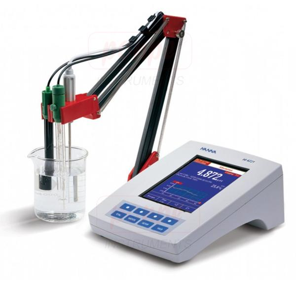 Research Grade Meter with Calibration Check  HI4221-02