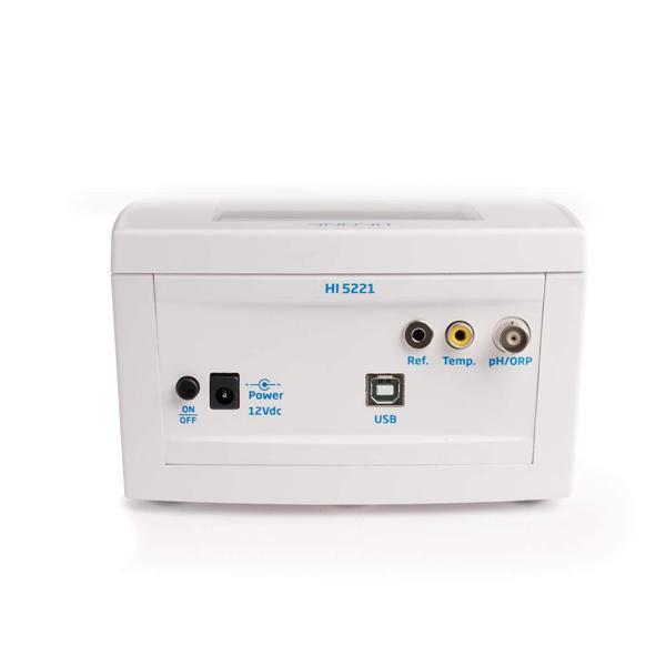 HI5221 HANNA เครื่องวัดกรดด่าง Benchtop pH/mV Meter