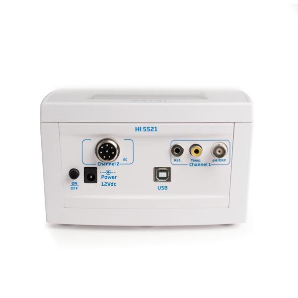 HI5521 HANNA เครื่องวัดค่าพีเอช โออาร์พี ความนำไฟฟ้า ทีดีเอส ความเค็ม