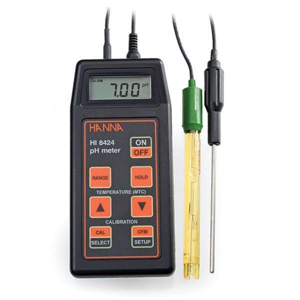 เครื่องวัดกรดด่าง pH meter / ORP / Temp รุ่น HI8424