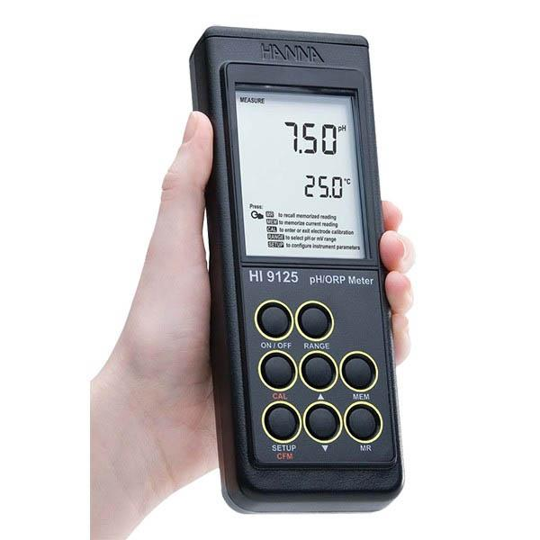 Waterproof Portable pH Meter HI9124