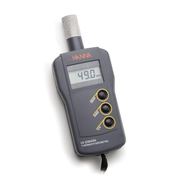 HI93640 HANNA เครื่องวัดอุณหภูมิ ความชื้น Portable Thermohygrometer