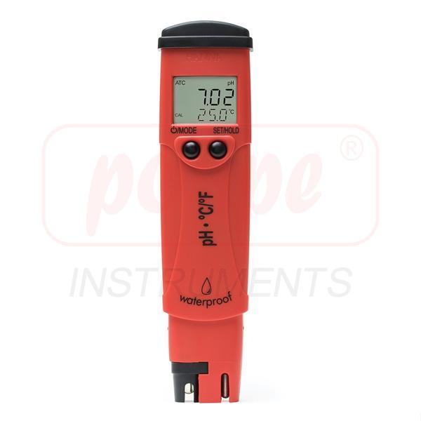 เครี่องวัดกรดด่าง pH/Temp HANNA รุ่น HI98128