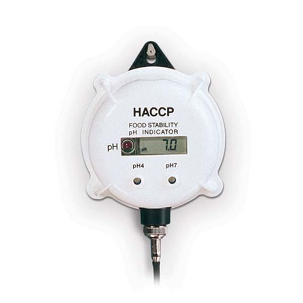 pH-Meter & Indicator with LED-Alarm HI981400