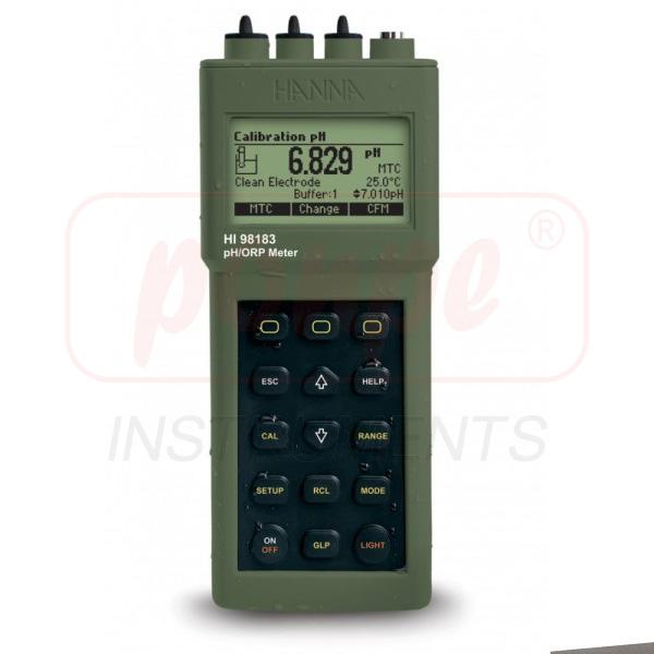 HI98183-02 pH/ORP Waterproof Portable Meter