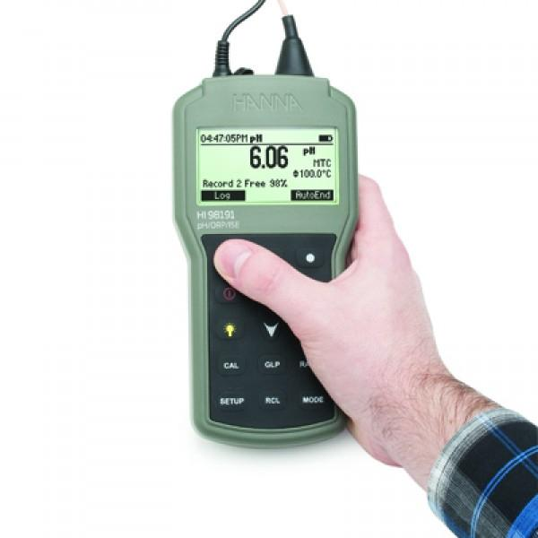 HI98191 HANNA Waterproof Portable pH / ORP / ISE Meter