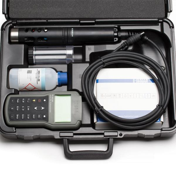 HI98194 HANNA pH/ORP/EC/TDS/Salinity/DO/Pressure/ Temperature Meter