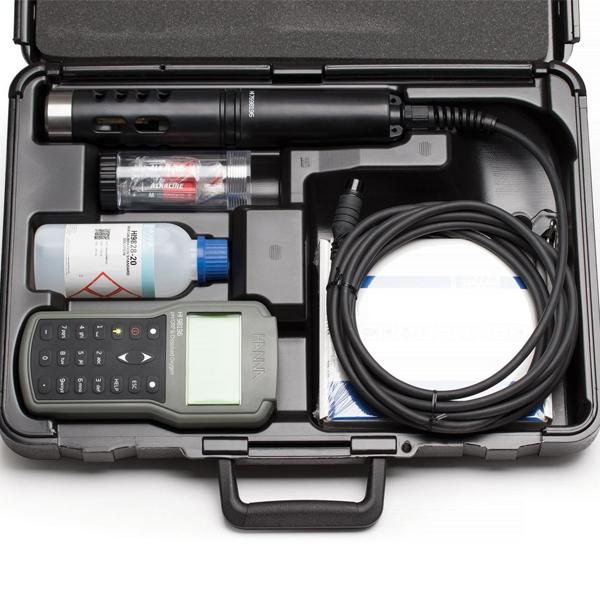 HI98196 HANNA เครื่องวัด pH/ORP/DO/Pressure/Temperature