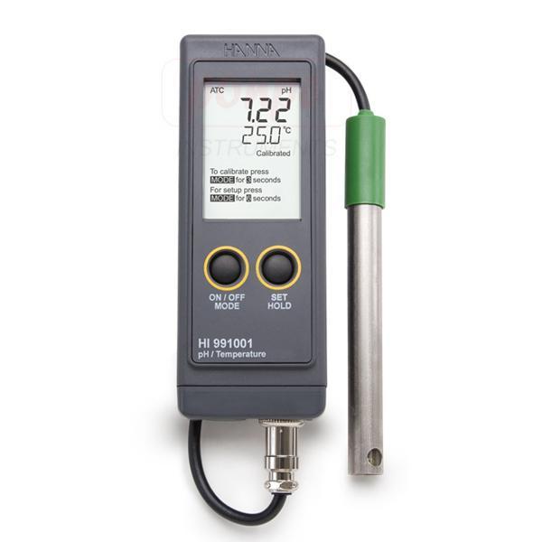 Extended Range Portable pH Meter HI991001