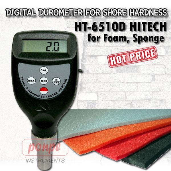 HT-6510D / HITECH เครื่องวัดความแข็ง Shore D Hardness Tester