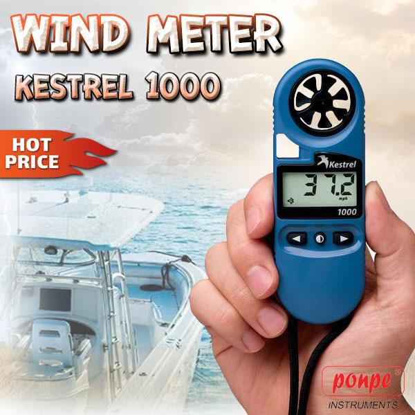 Kestrel 1000 เครื่องวัดความเร็วลม Wind Meter