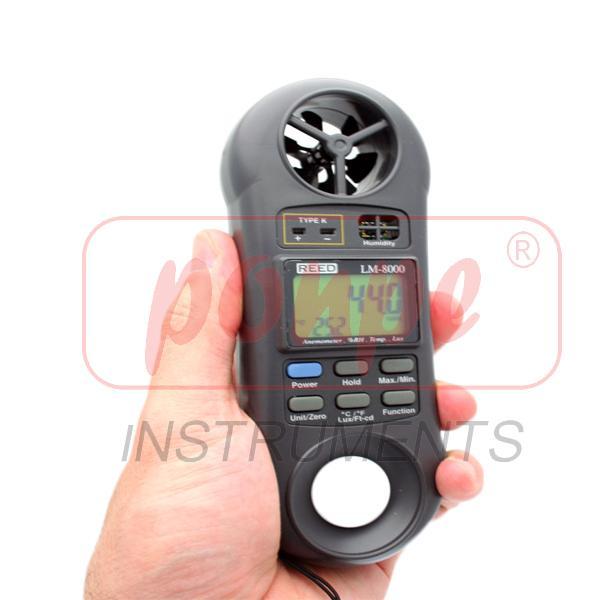 LM-8000 LUTRON 4-IN-1 Multi-Function Environmental Meter