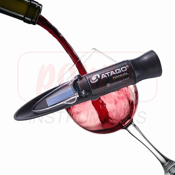 MASTER-P/OE / ATAGO เครื่องวัดความเข้มข้นไวน์ (องุ่น) Wine Refractometers