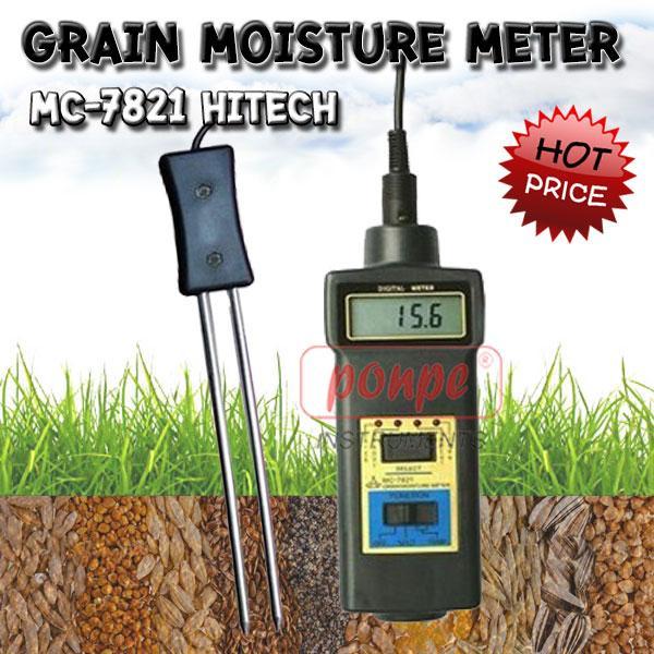 Grain Moisture Meter เครื่องวัดความชื้นวัสดุ MC-7821