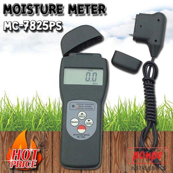 เครื่องวัดความชื้นวัสดุ Moisture Meters Hitech รุ่น MC-7825PS