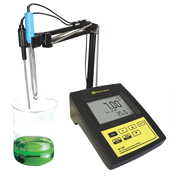 MI150 Milwaukee pH /Temperature Laboratory Bench เครื่องวัดpH แบบตั้งโต๊ะ