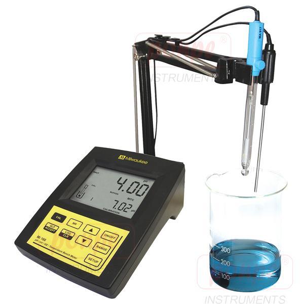 MI160 MILWAUKEE เครื่องวัด pH / ORP / ISE / Temperature แบบตั้งโต๊ะ