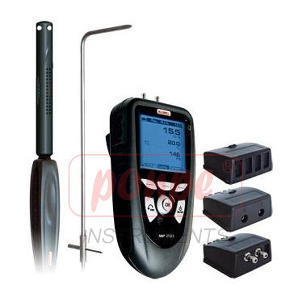 Pressure, Air Velocity, Air Flow, Temperature Meter MP200G