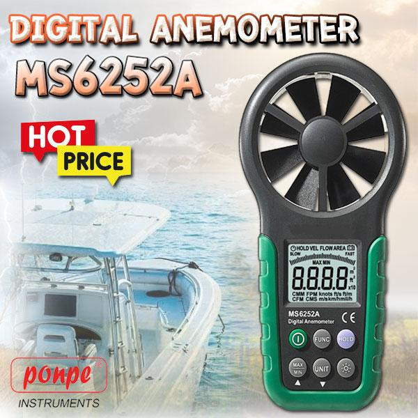 MS6252A / MASTECH Digital Anemometer
