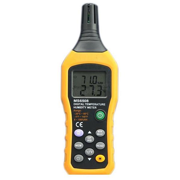MS6508 / JEDTO เครื่องวัดอุณหภูมิ ความชื้น Digital Hygro-Thermometer