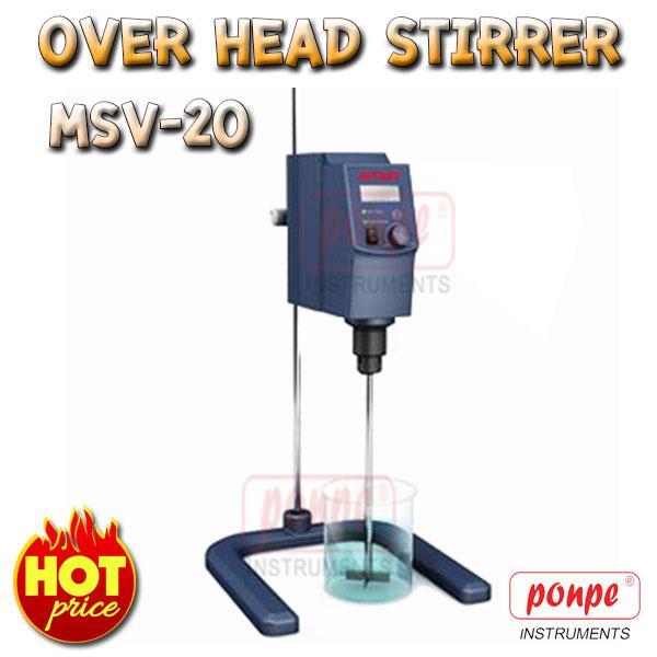 เครื่องปั่นสารละลาย Over Head Stirrer MSV-20
