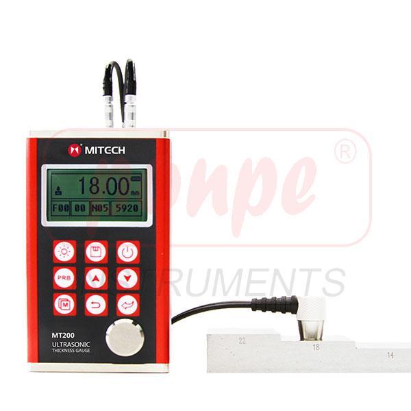 MT200 / MITECH เครื่องวัดความหนาเหล็ก Ultrasonic Thickness Gauge