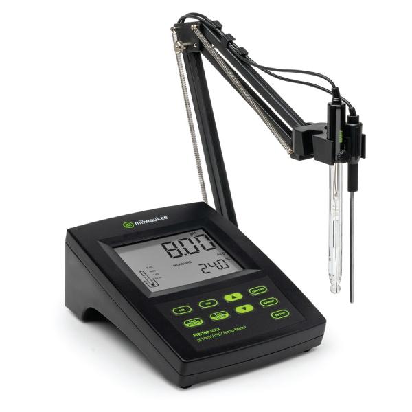 MW160 MILWAUKEE เครื่องวัด pH / ORP / ISE / Temperature แบบตั้งโต๊ะ