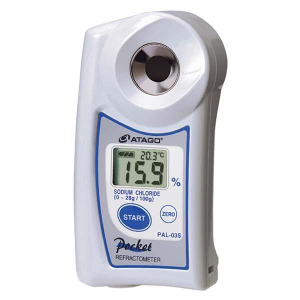 เครื่องวัดความเค็ม Salinity Refractometer PAL-03S