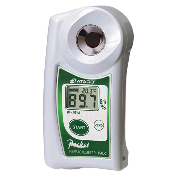 Refractometer เครื่องวัดค่าการหักเหของแสง PAL-3