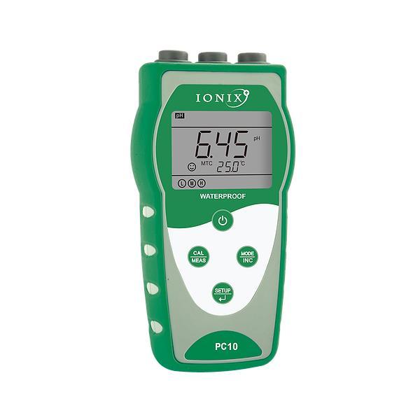 PC10 / IONIX เครื่องวัดค่า pH/mV/Cond/TDS/Temp