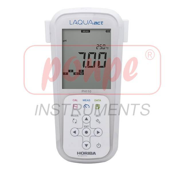 PC110 Horiba Scientific เครื่องวัดกรดด่างและคุณภาพน้ำ