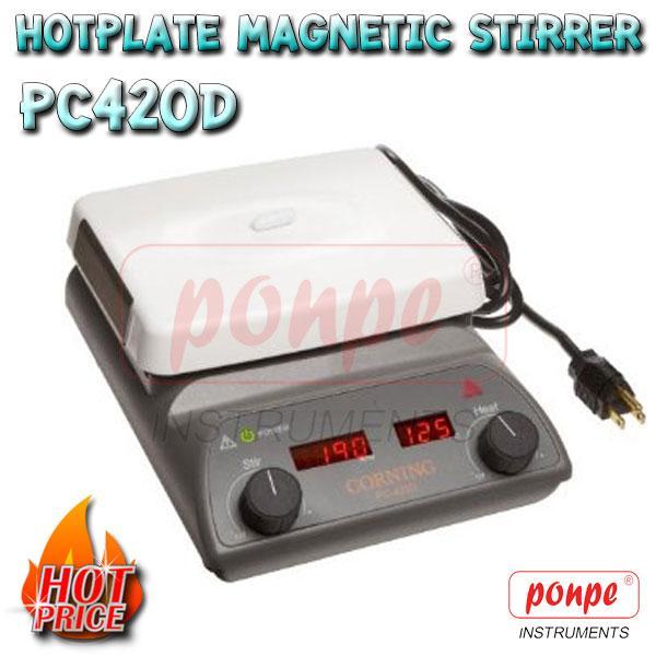 Hotplate Magnetic stirrer PC420D