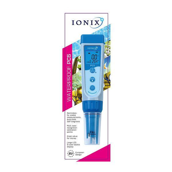 PC5 / IONIX เครื่องวัดค่ากรดด่าง ความนำไฟฟ้า pH and Conductivity Meter