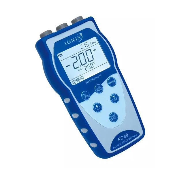 PC50 / IONIX Conductivity Meter pH / Conductivity Meter