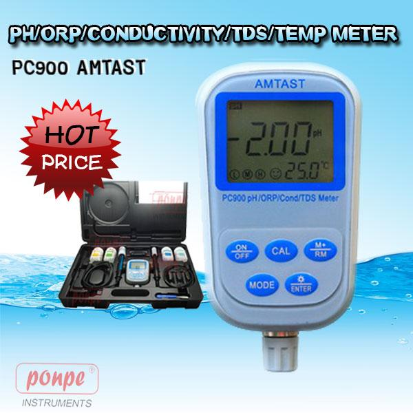 PC900 AMTAST pH meter, conductivity, TDS, salinity