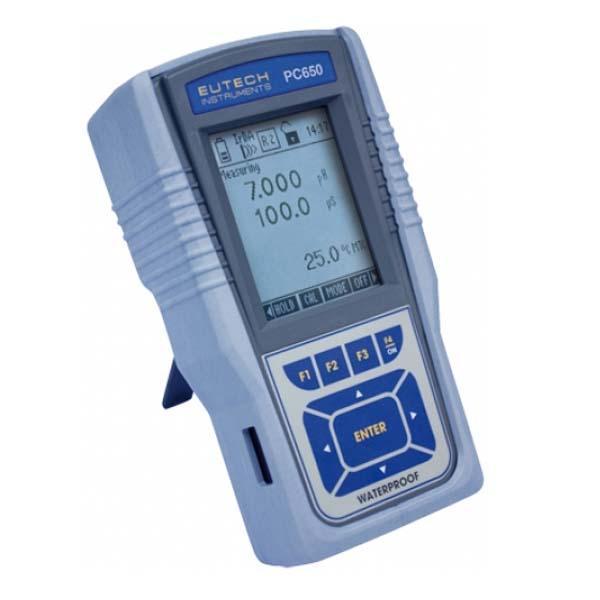 PCD 650 EUTECH Multi-Parameter 9in1 เครื่องวัดค่ากรดด่าง mV(ORP) ION ความนำไฟฟ้า TDS ความเค็ม Resistivity อุณหภูมิ และDO